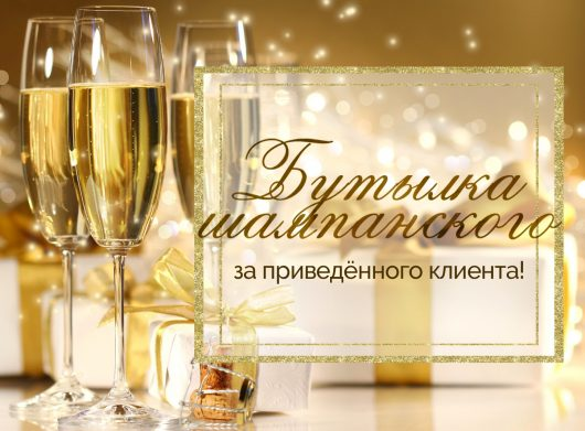 бутылка шампанского 2